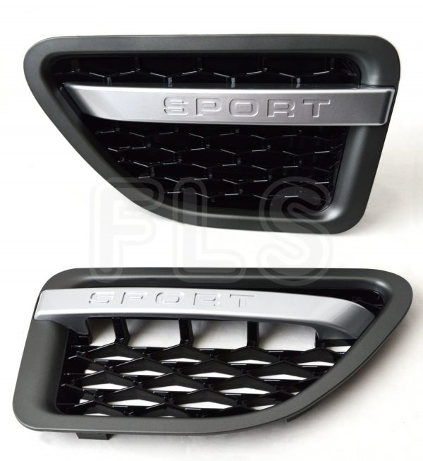 RANGE ROVER SPORT AUTOBIOGRAPHY 05-09 SIDE VENTS FRONT GRILLE STEPS – BLACK-GREY-SILVER