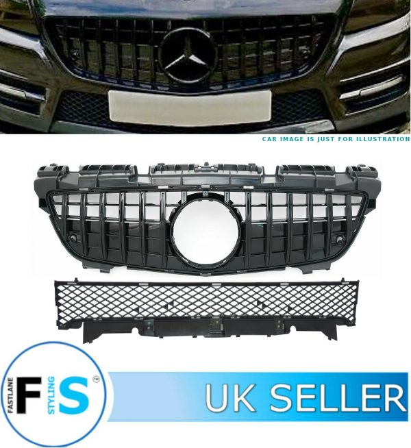 MERCEDES SLK CLASS R172 FRONT GRILLE GT STYLE