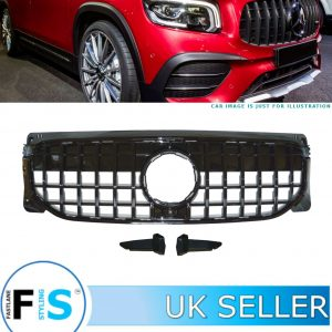 MERCEDES GLB CLASS X247 FRONT GRILLE GT STYLE