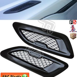 RANGE ROVER EVOQUE PURE PRESTIGE DYNAMIC DUMMY BONNET VENTS AIR GRILLES BLACK