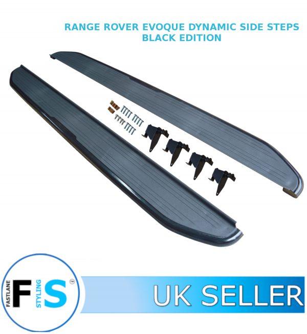RANGE ROVER EVOQUE SIDE STEPS RUNNING BOARDS DYNAMIC MODELS