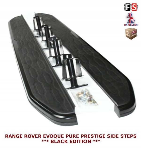 RANGE ROVER EVOQUE SIDE STEPS RUNNING BOARDS PURE PRESTIGE MODELS