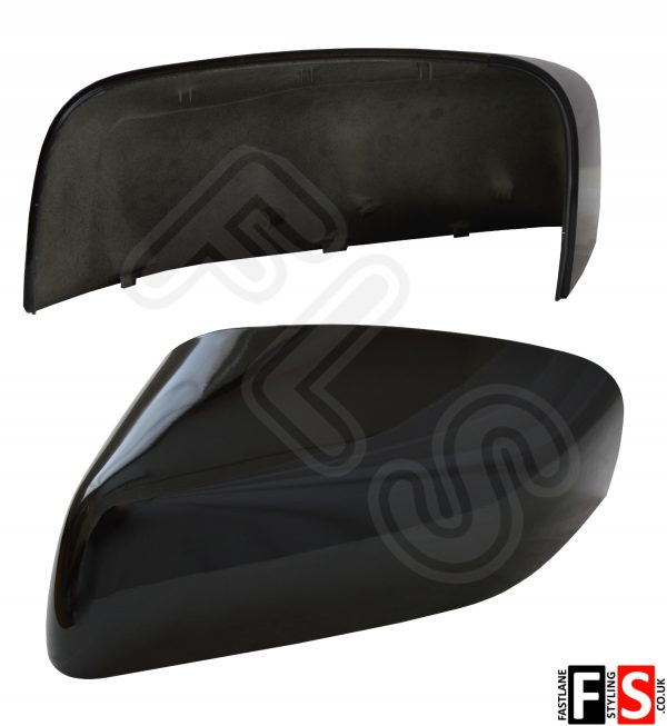 RANGE ROVER SPORT (L320) 2010-2013 REPLACEMENT MIRROR COVER-LEFT-GLOSS BLACK LH