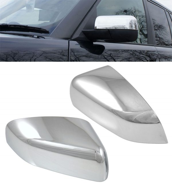 RANGE ROVER SPORT REPLACEMENT SIDE WING MIRROR COVERS 2010-2013 -CHROME