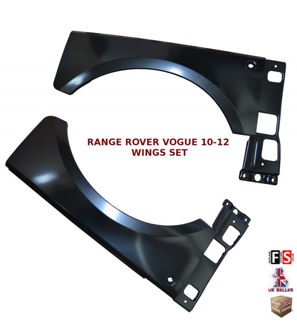 RANGE ROVER VOGUE L322 WING ARCH FENDER REPLACEMENT PANEL PAIR
