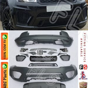 SVR STYLE FULL BODY KIT 12-15 FRONT/REAR BUMPERS FOR RANGE ROVER EVOQUE