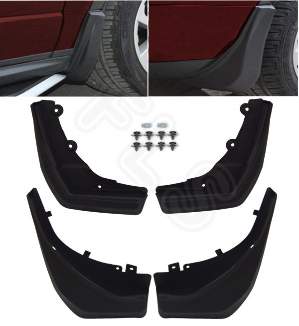 LAND ROVER EVOQUE MUDFLAPS DYNAMIC 11-15 OEM STYLE MUD FLAPS MUDGUARDS SET