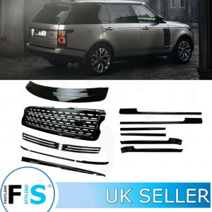 RANGE ROVER VOGUE L405 BLACK EDITION BODY KIT TRIMS GRILLE VENTS