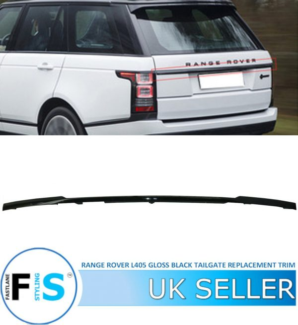 RANGE ROVER L405 VOGUE REAR TAILGATE REPLACEMENT BOOT TRIM