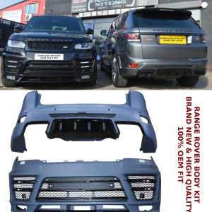 RANGE ROVER SPORT 2014 UP STARTECH BODYKIT CONVERSION FRONT REAR BUMPER