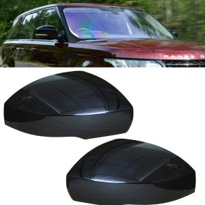 RANGE ROVER SPORT REPLACEMENT SIDE WING MIRROR COVER GLOSS BLACK 2014+ RIGHT