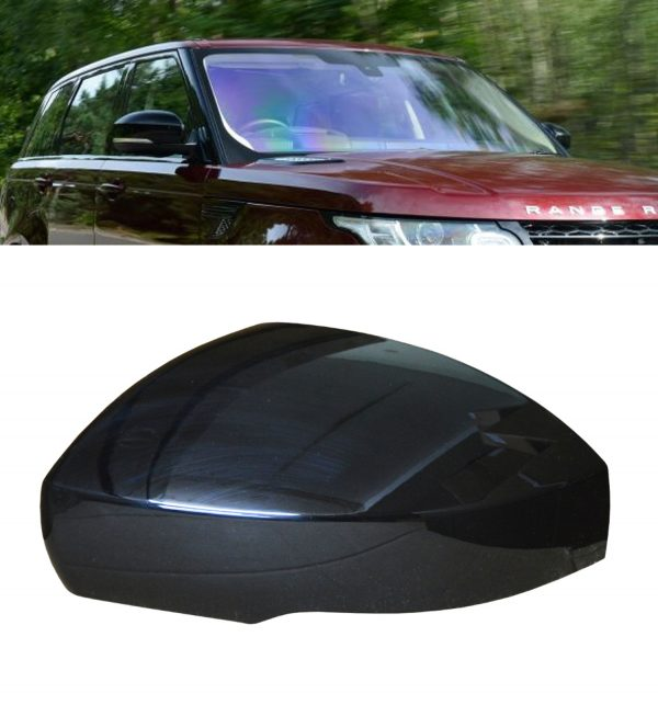 RANGE ROVER SPORT REPLACEMENT SIDE WING MIRROR COVER GLOSS BLACK 2014+ LEFT