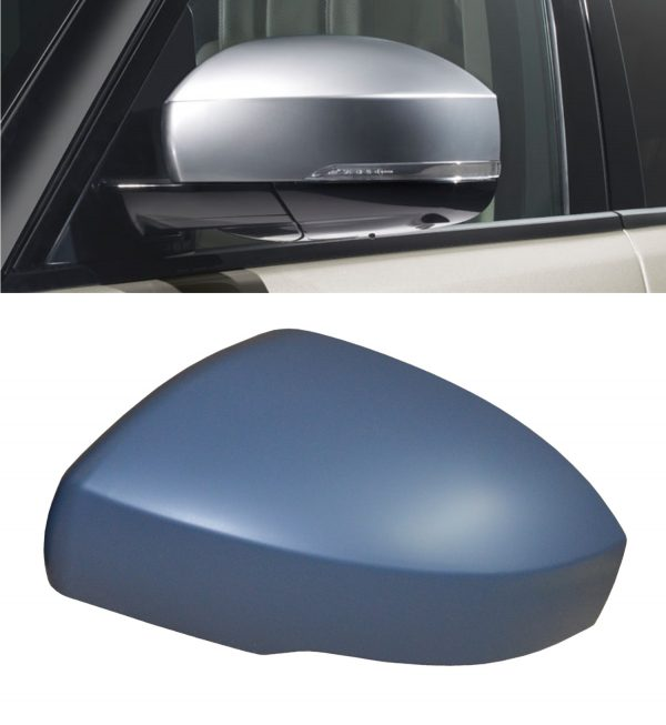 RANGE ROVER SPORT REPLACEMENT SIDE WING MIRROR COVER PRIMED 2014+ LEFT