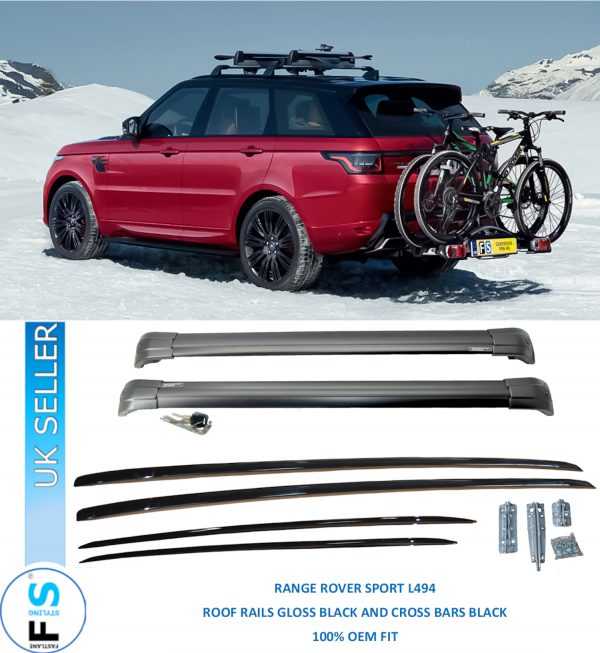 RANGE ROVER SPORT L494 ROOF RAILS AND CROSS BARS