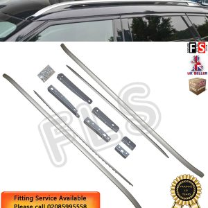 SILVER ALUMINIUM ROOF RAILS ROOF BAR RACKS FOR RANGE ROVER SPORT 2014+