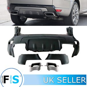 RANGE ROVER SPORT L494 2019 LOOK REAR BUMPER BODY KIT