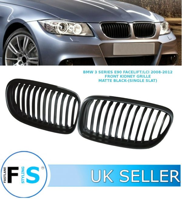 BMW 3 SERIES E90 E91 FACELIFT/LCI FRONT BUMPER KIDNEY GRILLE