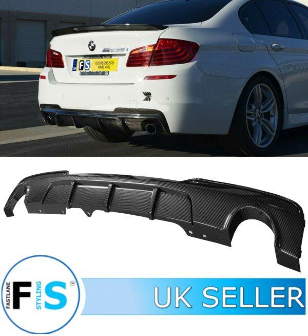 BMW 5 SERIES F10 F18 M PERFORMANCE REAR DIFFUSER