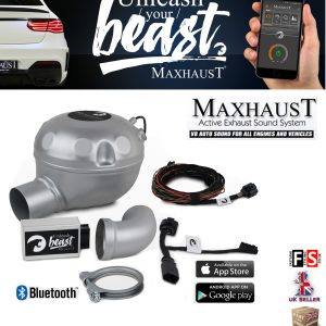 MAXHAUST ACTIVE SOUND BOOSTER V8 SIMULATION