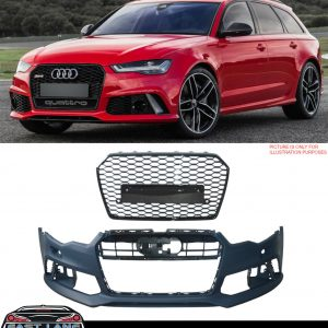 AUDI A6 RS6 STYLE FRONT BUMPER BODYKIT CONVERSION