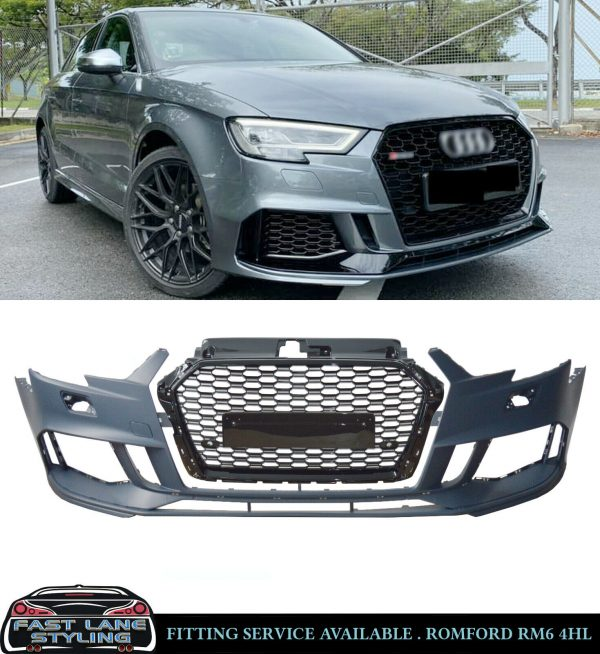 AUDI A3 RS3 STYLE FRONT BUMPER BODYKIT