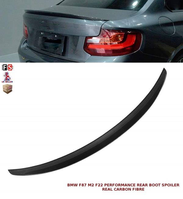 BMW 2 SERIES F22 F87 PERFORMANCE REAR BOOT SPOILER