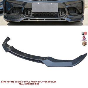 BMW 2 SERIES F87 M2 FRONT SPLITTER VALANCE LIP SPOILER V STYLE