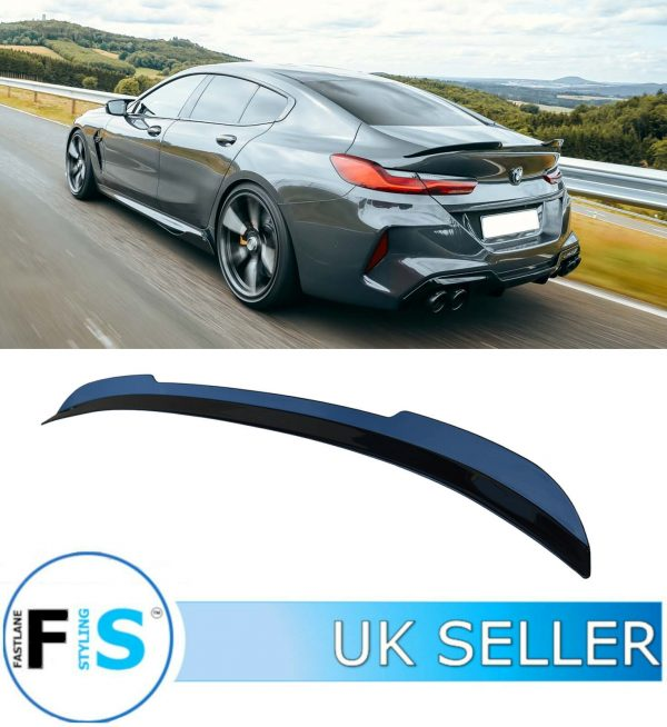 BMW 8 SERIES GRAN COUPE G16 REAR BOOT TRUNK SPOILER