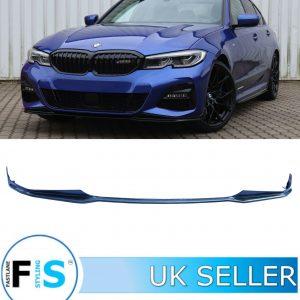 BMW 3 SERIES G20 G21 CARBON FIBRE LOOK FRONT LIP SPLITTER