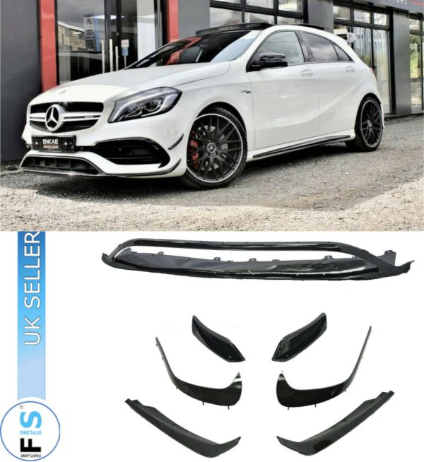 MERCEDES  A CLASS W176 AMG A45 LOOK FRONT AERO KIT