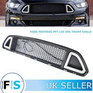 FORD MUSTANG FRONT BUMPER GRILLE + LED DRL