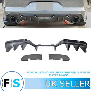 FORD MUSTANG RTR STYLE REAR BUMPER DIFFUSER