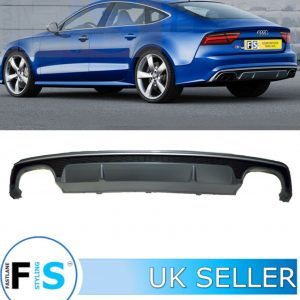 AUDI A7 (4G) S7-LOOK REAR DIFFUSER FOR S-LINE MODELS
