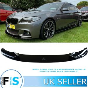 BMW 5 SERIES F11 F10 M PERFORMANCE FRONT LIP SPLITTER