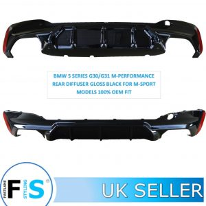 BMW 5 SERIES G30/G31 M-PERFORMANCE REAR DIFFUSER
