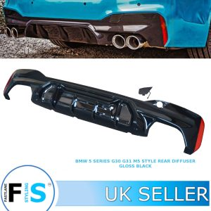 BMW 5 SERIES G30 G31 M PERFORMANCE M5 STYLE REAR BUMPER