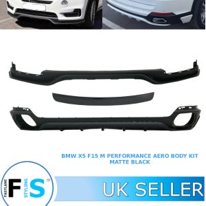 BMW X5 F15 AERO KIT FRONT SPLITTER & REAR DIFFUSER