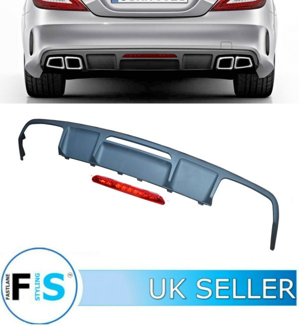 MERCEDES CLS CLASS C218 COUPE CLS63 AMG REAR DIFFUSER