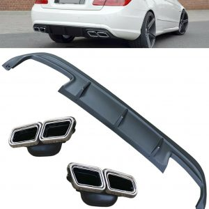 MERCEDES E-CLASS C207 COUPE E63 AMG LOOK DIFFUSER