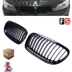 BMW 3 SERIES E92 E93 FACELIFT LCI 2D COUPE & CABRIOLET FRONT KIDNEY GRILLE GLOSS