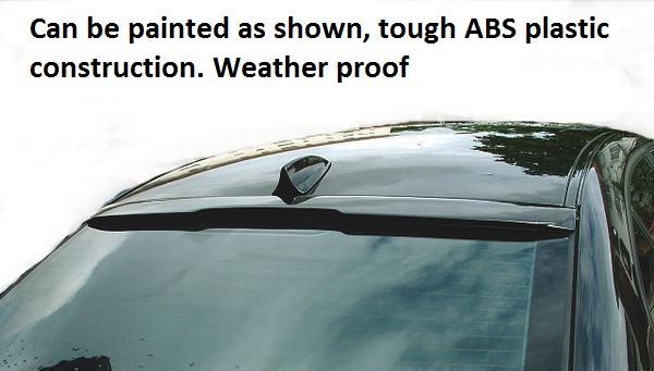 BMW 5 SERIES 2003-2010 E60 E61 REAR ROOF WINDOW WING BOOT TRUNK SPOILER LIP M
