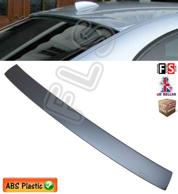 BMW 7 SERIES E65 PERFORMANCE REAR ROOF WINDOW SPOILER MATT BLACK 02-07