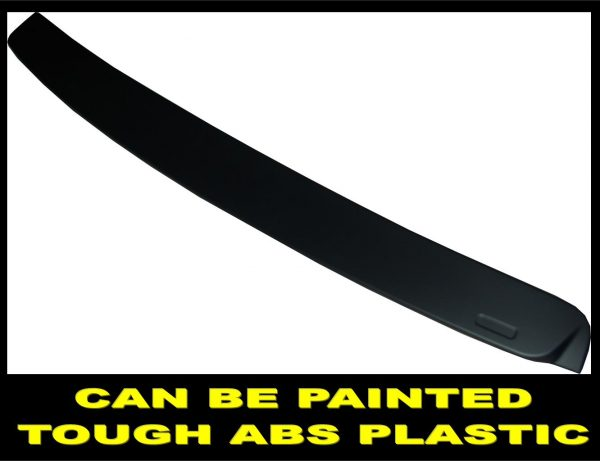 BMW 3 SERIES E92 05-11 REAR ROOF WINDOW SCREEN SPOILER MATTE BLACK 100% OEM FITT
