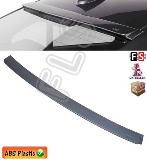 BMW 3 SERIES F30 F80 REAR ROOF WINDOW LIP SPOILER MATT BLACK 100% OEM FIT