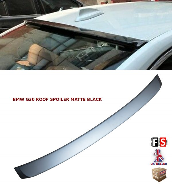 BMW 5 SERIES G30 REAR ROOF WINDOW LIP SPOILER