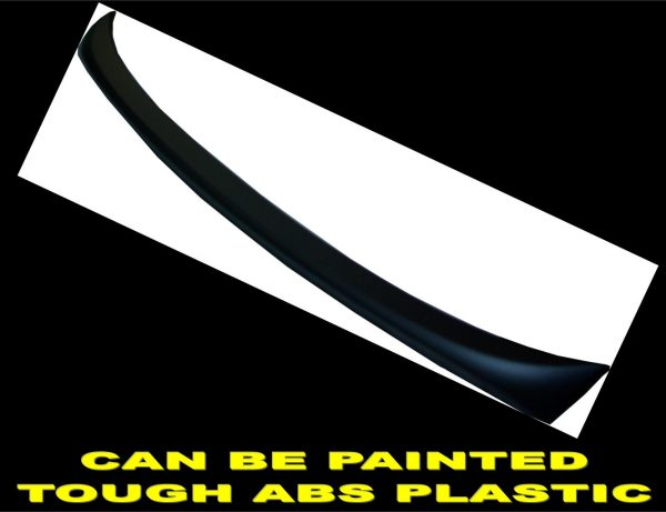 BMW 3 SERIES E90 05-11 REAR TRUNK BOOT LIP LID SPOILER M SPORTS-MATTE BLACK