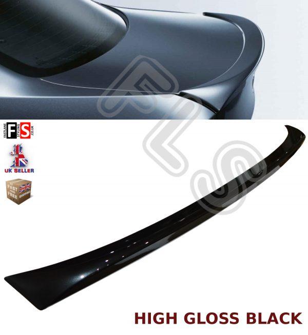 BMW 3 SERIES E90 M PERFORMANCE GLOSS BLACK BOOT TRUNK LIP SPOILER 100% OEM FIT