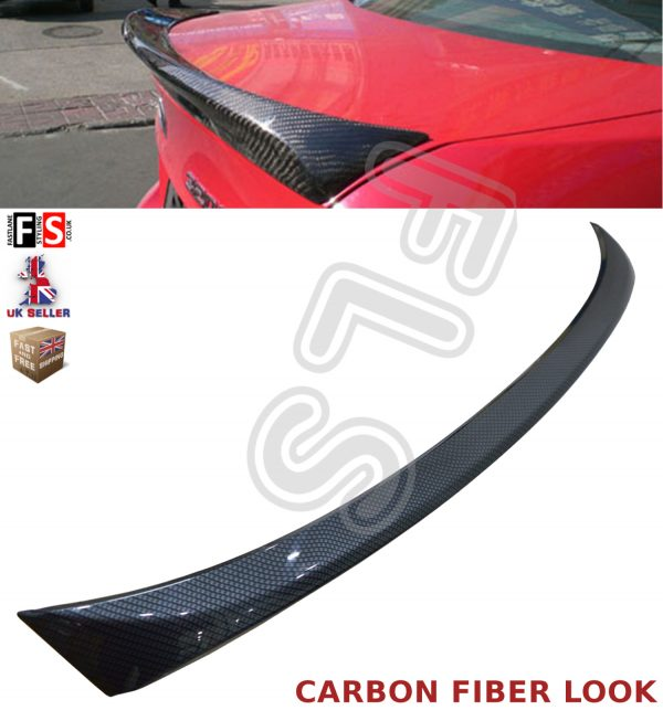 BMW 3 SERIES E90 05-13 M SPORT CARBON FIBER LOOK BOOT SPOILER TRUNK 4DR ABS