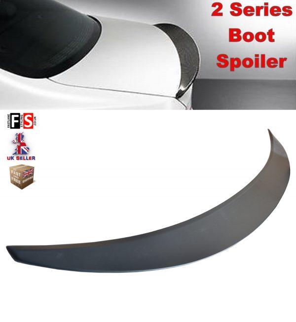 BMW 2 SERIES F22 F23 F87 M2 M SPORT 2014-18 TRUNK BOOT LIP SPOILER 100% OEM FIT