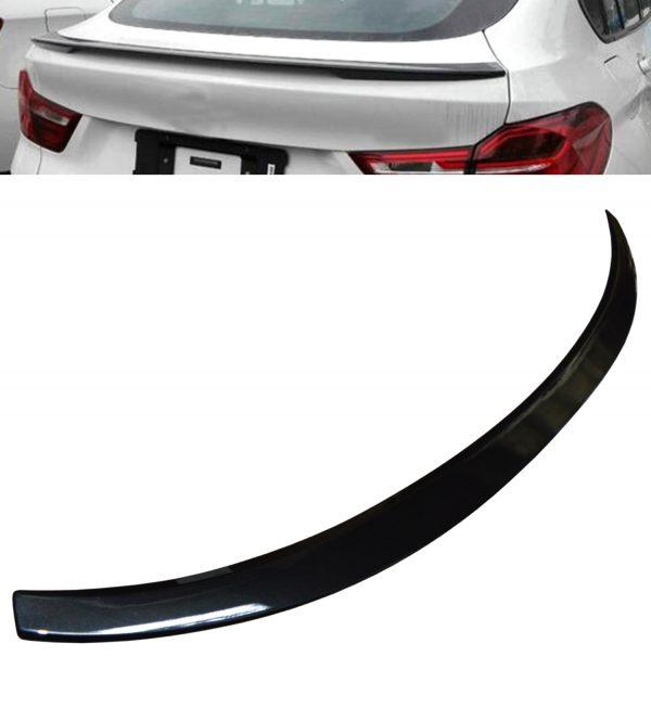 BMW X4 F26 M PERFORMANCE REAR TRUNK BOOT LIP SPOILER GLOSS BLACK 100% OEM FIT